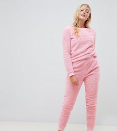 Ультрамягкий свитшот и джоггеры ASOS DESIGN Tall Lounge - Розовый