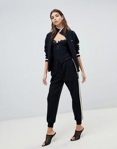Трикотажные спортивные брюки Miss Sixty - Черный