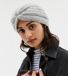 Шляпа с запахом Stitch & Pieces - Серый