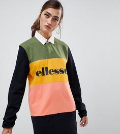 Платье-футболка в стиле колор блок Ellesse - Мульти