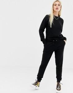 Спортивный костюм со свитшотом и джоггерами ASOS DESIGN ultimate - Черный