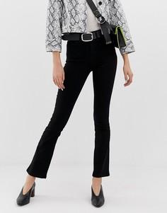 Черные джинсы с легким клешем River Island - Черный