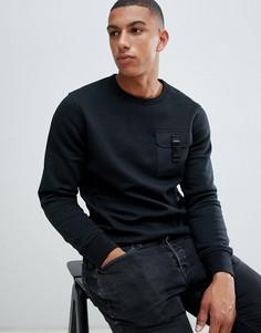 Свитшот с карманом Jack & Jones Core - Черный