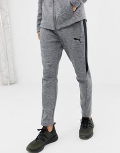 Серые брюки Puma Training EvoStripe - Серый