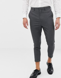 Укороченные узкие брюки Only & Sons - Серый