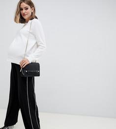 Широкие брюки ASOS DESIGN Maternity - Черный
