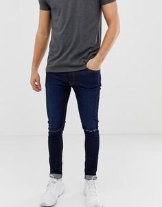 Рваные джинсы скинни Ringspun - Черный