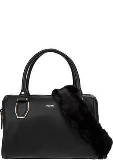Черная сумка со съемной широкой ручкой Picard