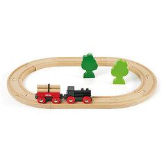 Железная дорога BRIO малая, 14 деталей