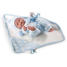 Кукла Llorens Селесте с одеялом, 26 см