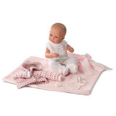 Кукла Llorens младенец в розовом, 35 см