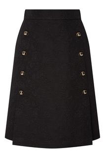 Юбка с жаккардовым рисунком Dolce & Gabbana