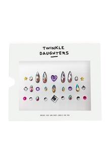 Набор кристаллов для лица и тела мультиколор Twinkle Daughters