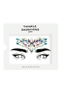Патч для лица «треугольник» с розовыми и голубыми кристаллами Twinkle Daughters