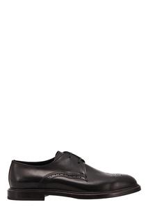 Черные туфли с перфорацией Dolce & Gabbana