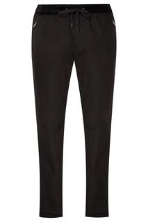 Черные брюки с эластичным поясом Dolce & Gabbana