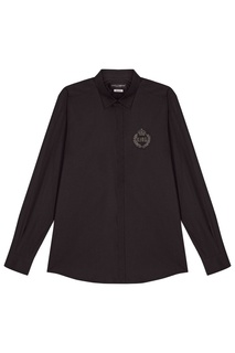 Черная хлопковая рубашка Dolce & Gabbana