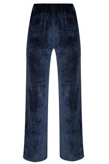 Синие вельветовые брюки Amina Rubinacci