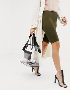 Прозрачная сумка-шоппер Prettylittlething - Мульти