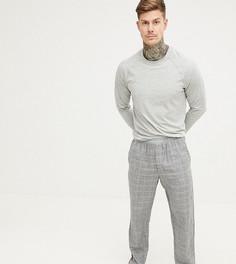 Фланелевая пижама в клетку Calvin Klein - Серый