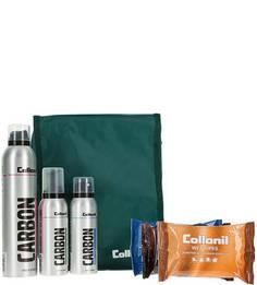 Набор средств для ухода за одеждой, обувью и аксессуарами MIX CARBON Collonil
