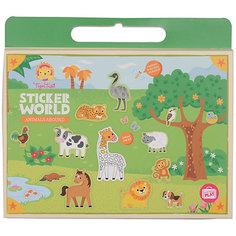 "Набор для творчества с наклейками Tiger Tribe ""Царство животных"""