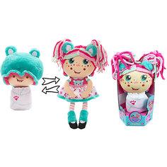 """Мягкая кукла 2 в 1 1toy """"Девчушка-вывернушка"""" Надюшка"""