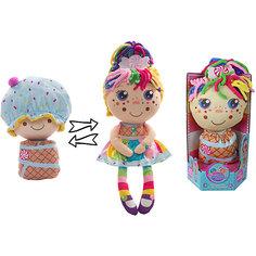 """Мягкая кукла 2 в 1 1toy """"Девчушка-вывернушка"""" Настюшка"""