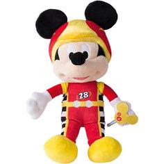 "Disney Мягкая игрушка ""Микки и весёлые гонки: Микки Маус"" (34 см, звук, музыка) IMC Toys"