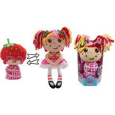 """Мягкая кукла 2 в 1 1toy """"Девчушка-вывернушка"""" Ксюшка"""