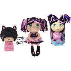 """Мягкая кукла 2 в 1 1toy """"Девчушка-вывернушка"""" Танюшка"""