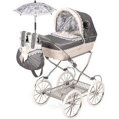 """Коляска DeCuevas """"Реборн"""" с сумкой и зонтиком, 81 см"""