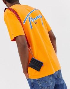 Черная сумка через плечо с логотипом Tommy Jeans - Черный