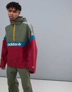 Красная\зеленая горнолыжная куртка adidas Snowboarding BB - Красный