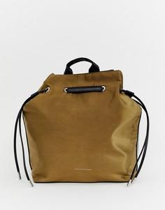 Рюкзак с затягивающимся шнурком Juicy Couture - Зеленый