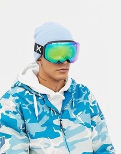 Защитные очки горнолыжника со сменными черными стеклами Anon M2 MFI - Черный