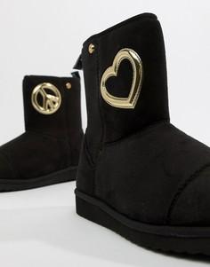 Ботинки Love Moschino - Черный