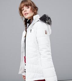 Белая горнолыжная куртка Protest Valdez - Белый