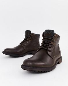 Коричневые ботинки Burton Menswear - Коричневый