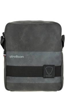 Маленькая сумка на молнии через плечо Strellson