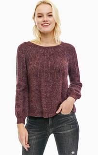 Джемпер фиолетового цвета с длинными рукавами Only