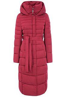 Стеганое пальто с капюшоном La Reine Blanche