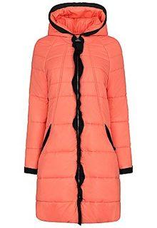 стеганое пальто на синтепоне Elema
