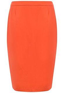 Оранжевая юбка LE Monique