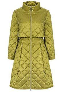 Стеганая куртка с объемной юбкой Clasna