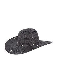 Соломенная шляпа с декором Sophie Ramage