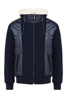 Комбинированная куртка на синтепоне Urban Fashion for men