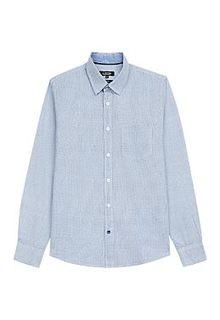 Светло-синяя рубашка Al Franco
