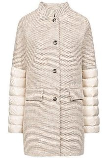 Комбинированное пальто Madzerini