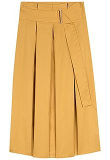 Желтая юбка La Reine Blanche